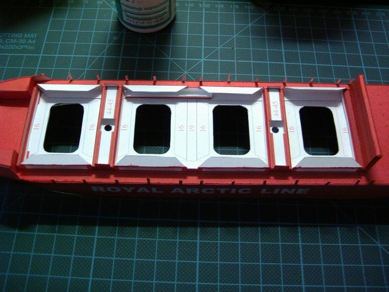 Containerfrachter Mary Arctica von JSC in 1:400 Pic01610