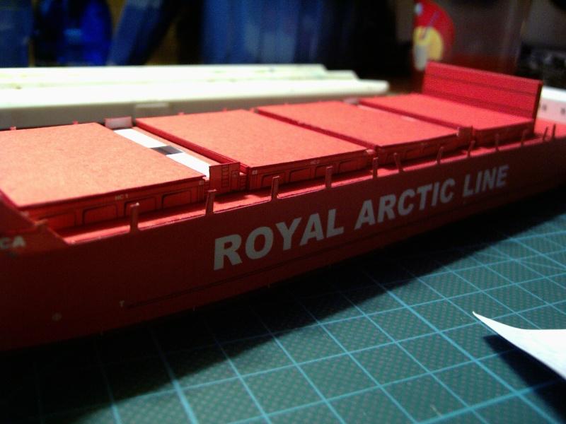 Containerfrachter Mary Arctica von JSC in 1:400 Pic01616