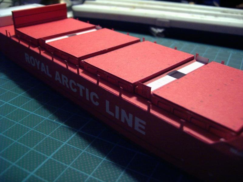 Containerfrachter Mary Arctica von JSC in 1:400 Pic01617
