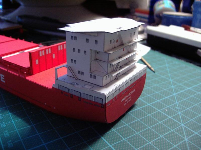 Containerfrachter Mary Arctica von JSC in 1:400 Pic01636