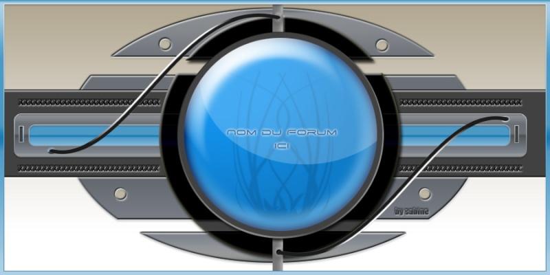 "Theme hi tech ""bleu_gris"" by Sab Bannie15"