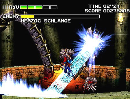 Strider² sur PSone Std2ps10