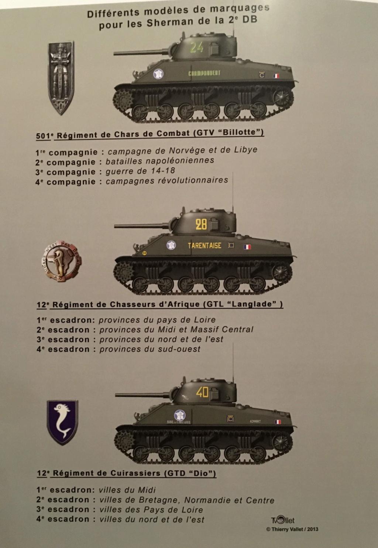 Taille et position des marquages d'un Sherman de la 2ème DB  - Page 2 Img_5510