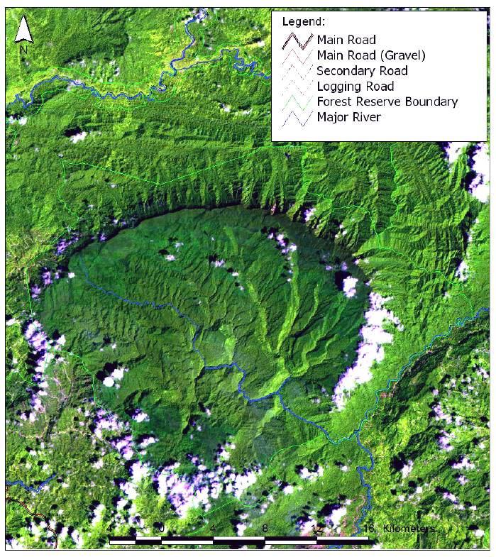 rampant illegal logging at maliau basin Maliau11