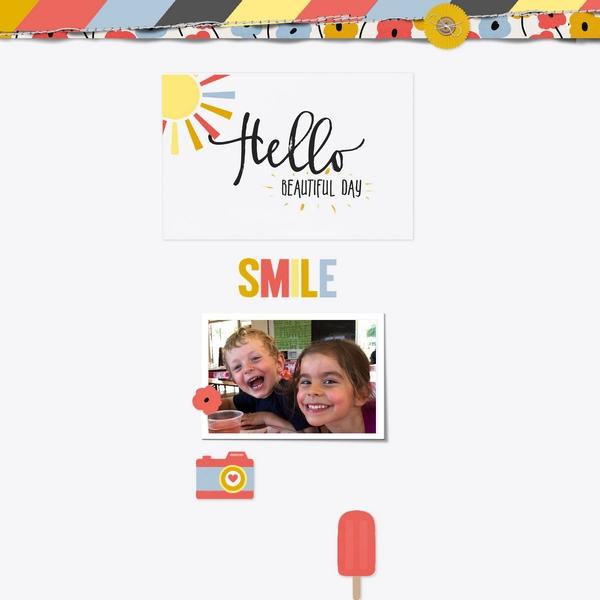 2018-31 / Challenge des Invités : Ola las niñas Smile10