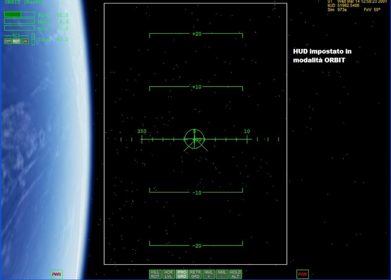 Arrivare in orbita Hudorb10