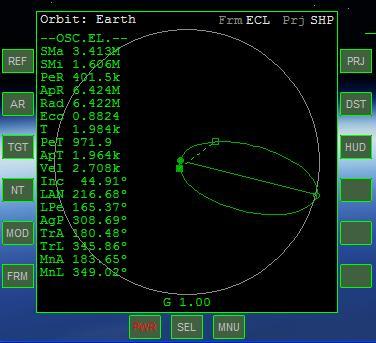 Arrivare in orbita Mfdorb10