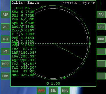 Arrivare in orbita Mfdorb11