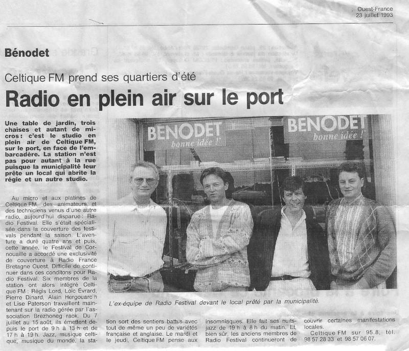 Celtic FM  / Radio Bénodet[BENODET(29)] Radio_11