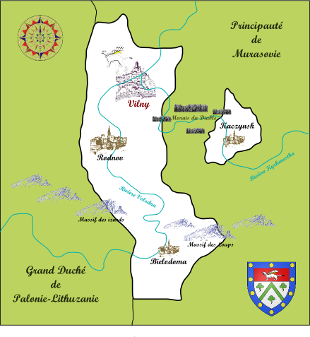 Terres des Princes Gornostaï Cartep12