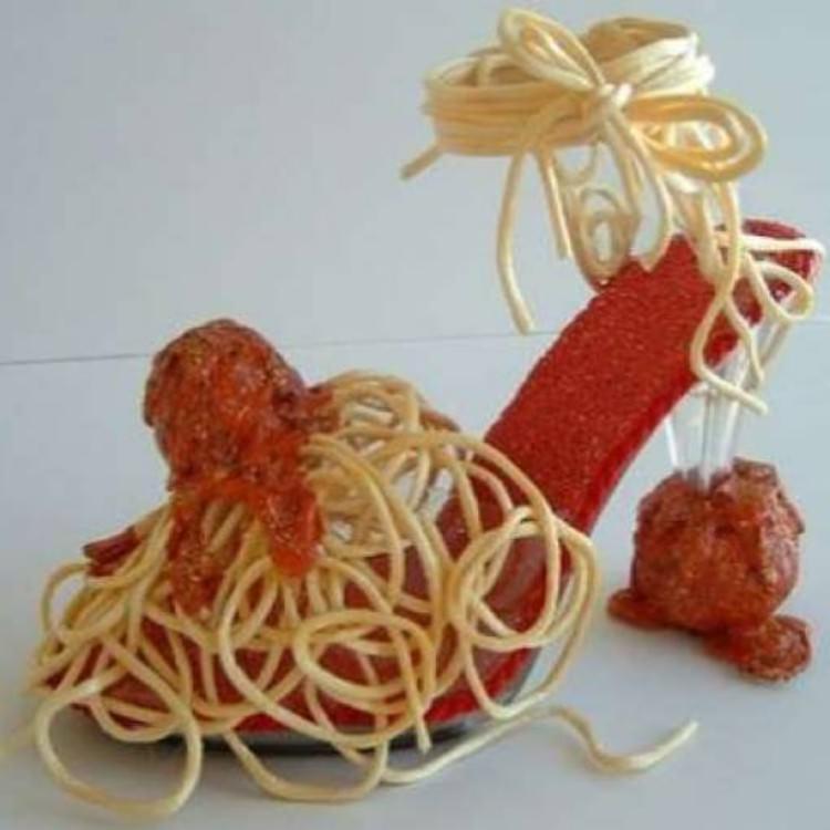 Spaghetti con polpettine F63efc10