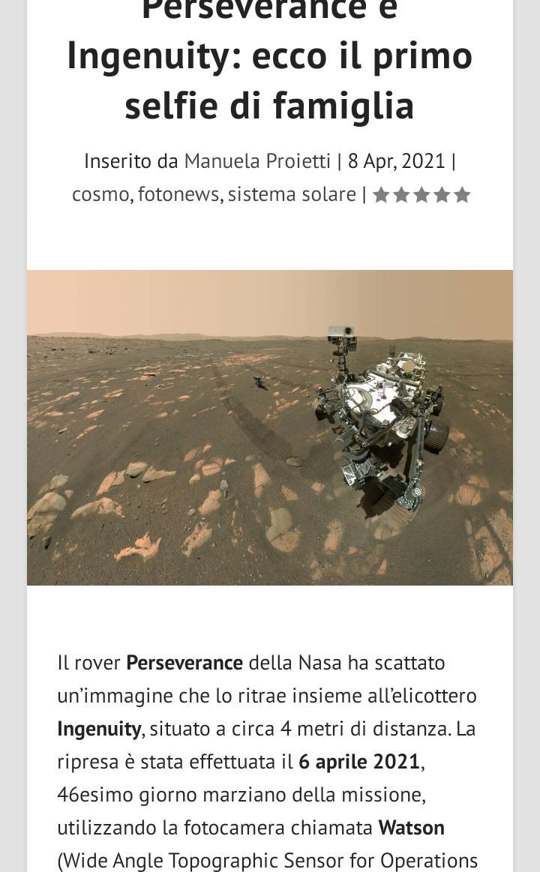 Marte aggiornamento Scree625