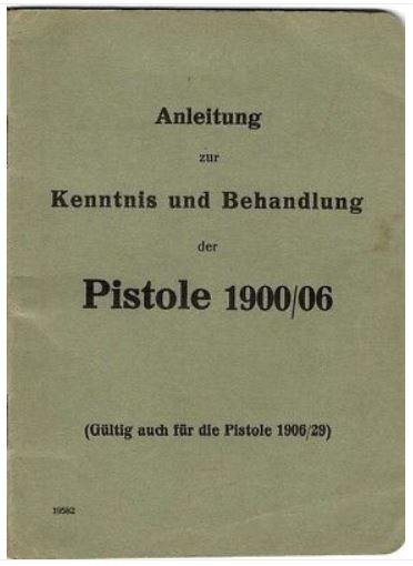 Livret armurier pour le Luger suisse 06/29 1900_010