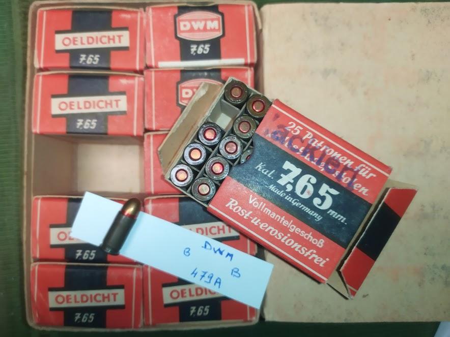 Cartouche 7.65mm allemande Pack_710