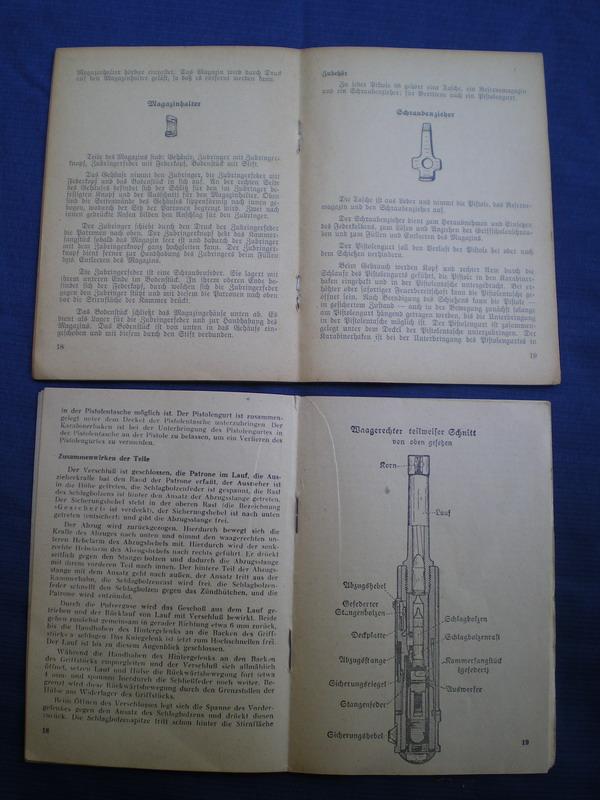 Livrets et manuels du Luger P08 et Parabellum Page_c10