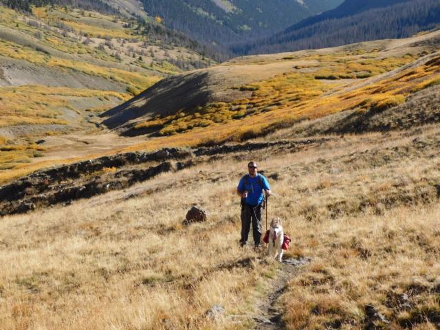 Hiking with Dogs~San Luis Peak, 14,014ft Dscn5010