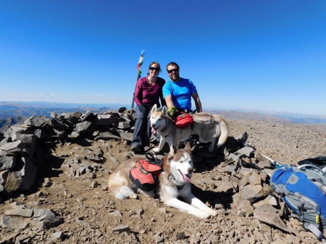 Hiking with Dogs~San Luis Peak, 14,014ft Dscn5011