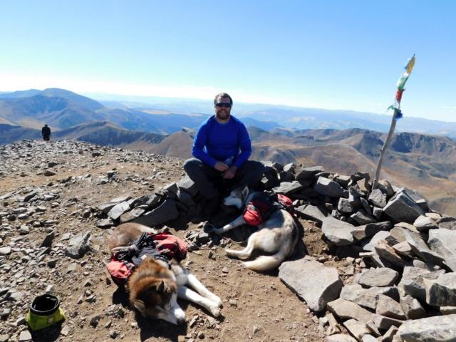Hiking with Dogs~San Luis Peak, 14,014ft Dscn5013