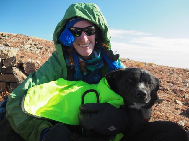 Hiking with dogs~Engelmann Peak Pa052916