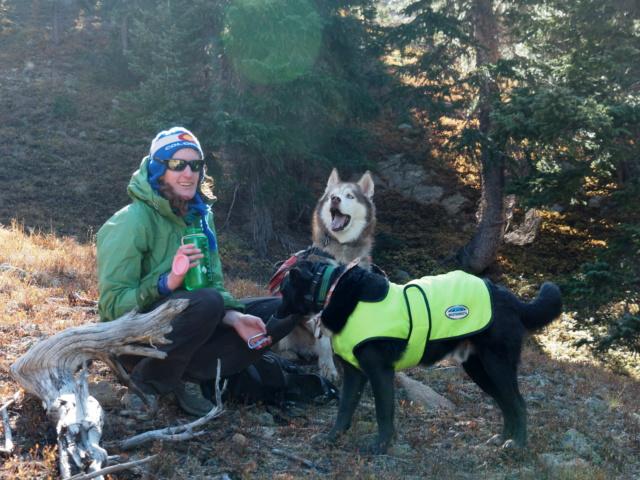 Hiking with dogs~Engelmann Peak Pa052922
