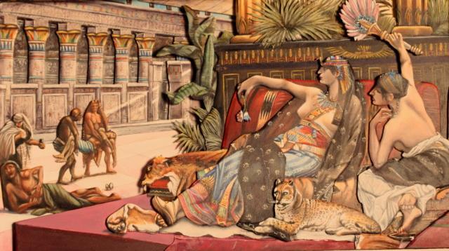 Cléopâtre testant des poisons sur des condamnés Img_1611