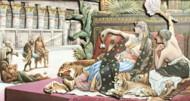 Cléopâtre testant des poisons sur des condamnés Img_1612