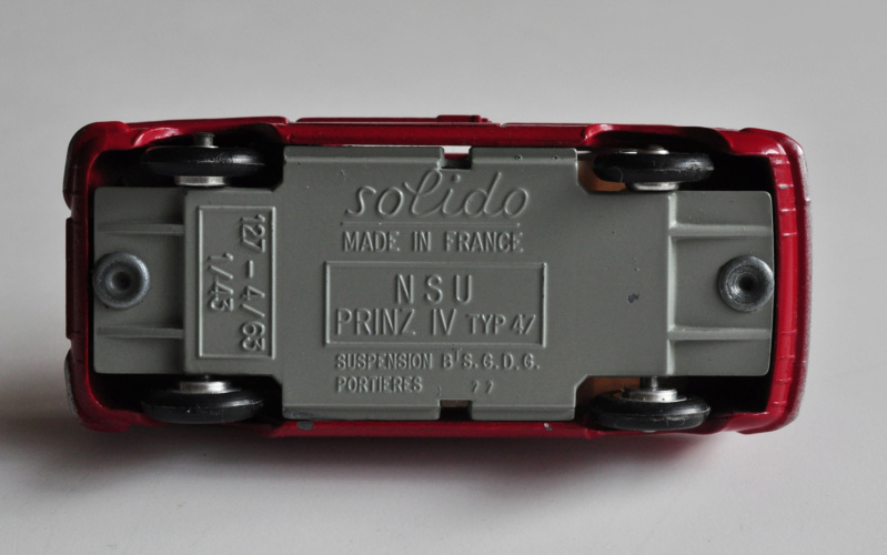 numéro 3 N.S.U Prinz IV Solido29