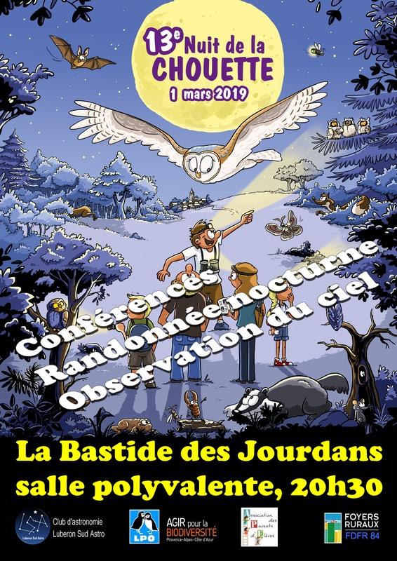 1 Mars 2019 => La nuit de la Chouette Affich16