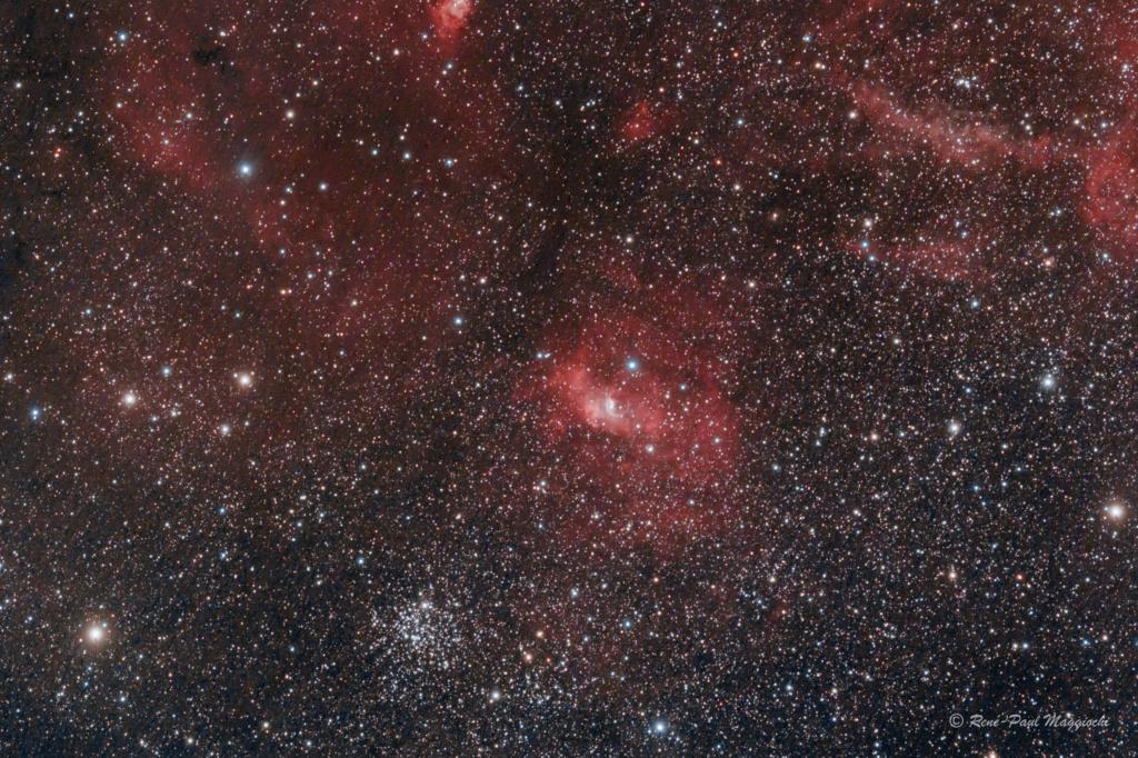 Nébuleuse de la bulle et M52 Bulle_11