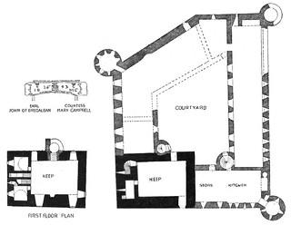 Un bel exemple de château écossais au XVIIème siècle 32807810