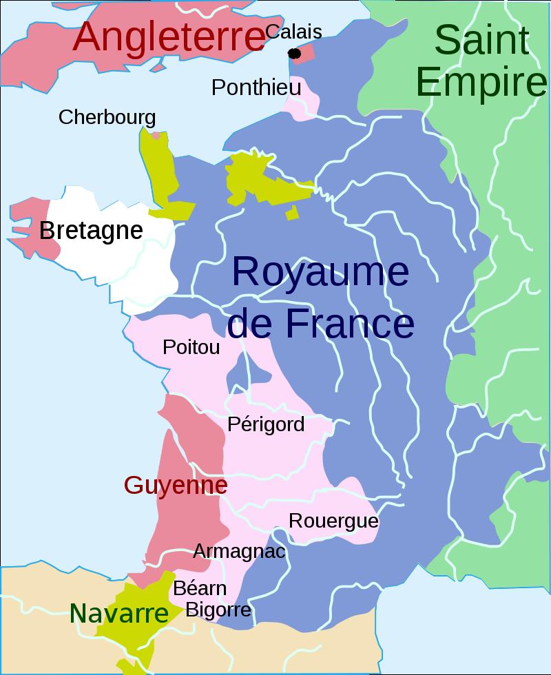 La guérilla anglaise dans la France méridionale (1369-1395) 800px-13