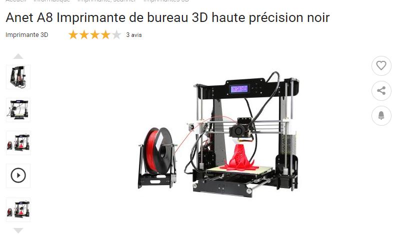 Imprimante 3D Anet810