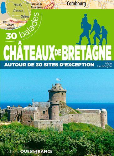 Châteaux de Bretagne aux éditions Ouest-France Balade10