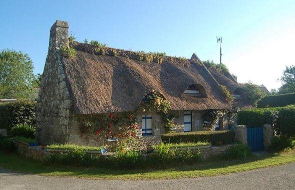 Maison bretonne Chaumi12