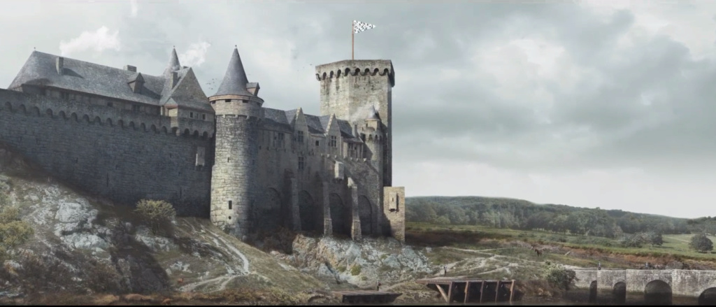 Kastell an Alre - le château d'Auray en 3D Kastel10