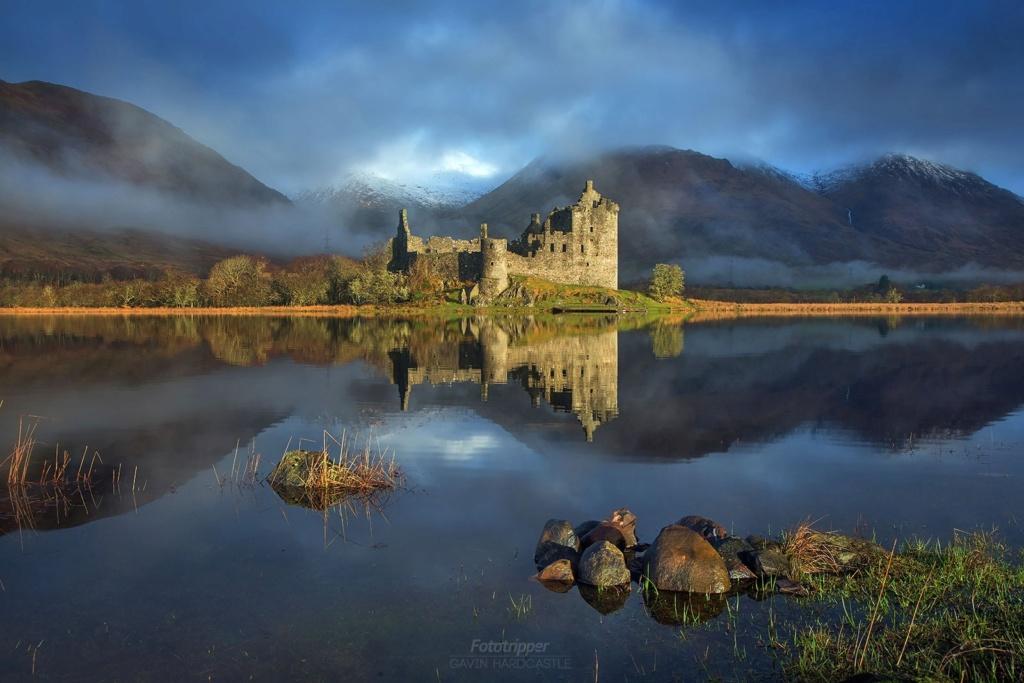 Un bel exemple de château écossais au XVIIème siècle Kilchu10