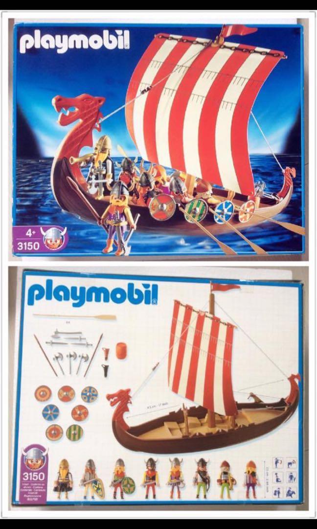 Des navires saxons Playmo10