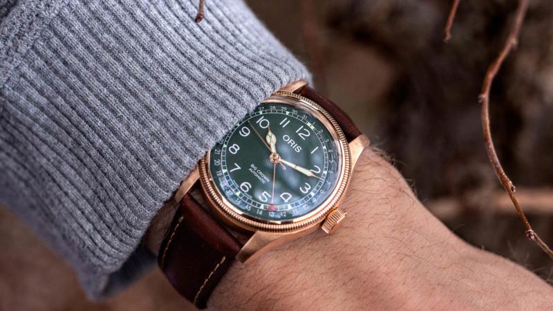 Si vous deviez vous offrir une montre en bronze . - Page 2 Oris-b10