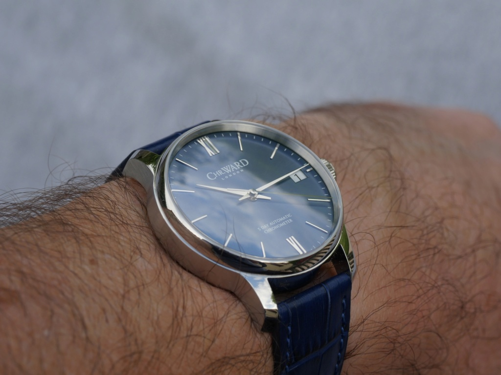 ward - [Vends] Christopher Ward C9 5 Day P1090220