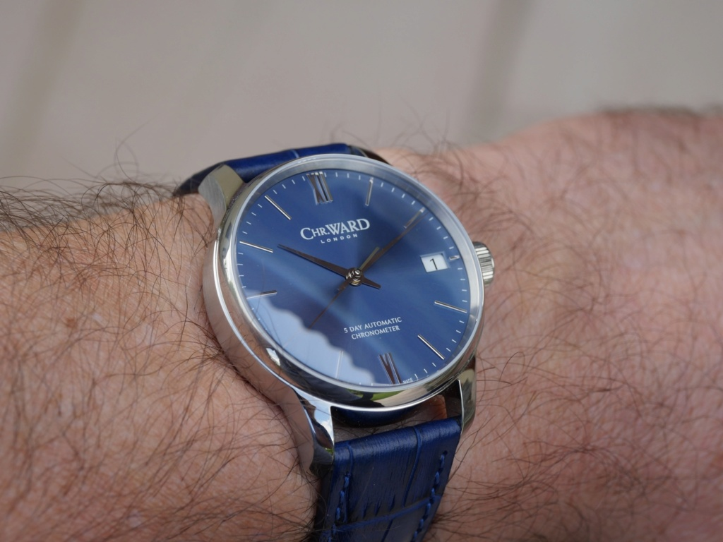 ward - [Vends] Christopher Ward C9 5 Day P1090221