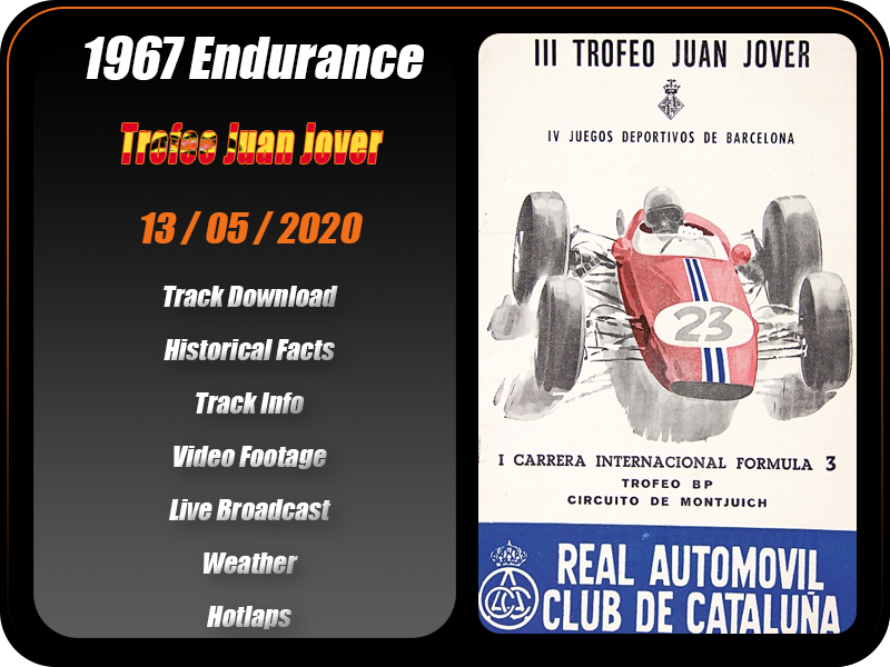 Round 9 | 1967 Trofeo Juan Jover [rF2 | May 13 (Wednesday)] CANCELLED 07b_1910