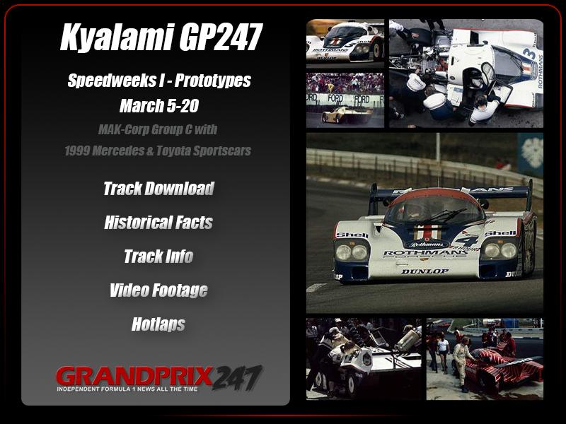 GP247 Speedweeks I - Prototypes (March 5-20) Affich22