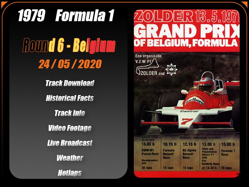 Round 6 - Zolder [Postponed - date TBD] Round_14