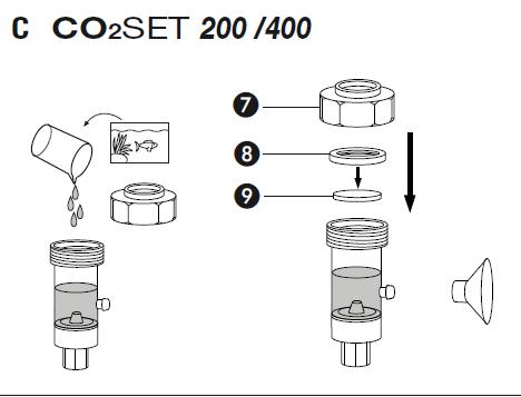 Matériel pour Co2 artisanal Captur10