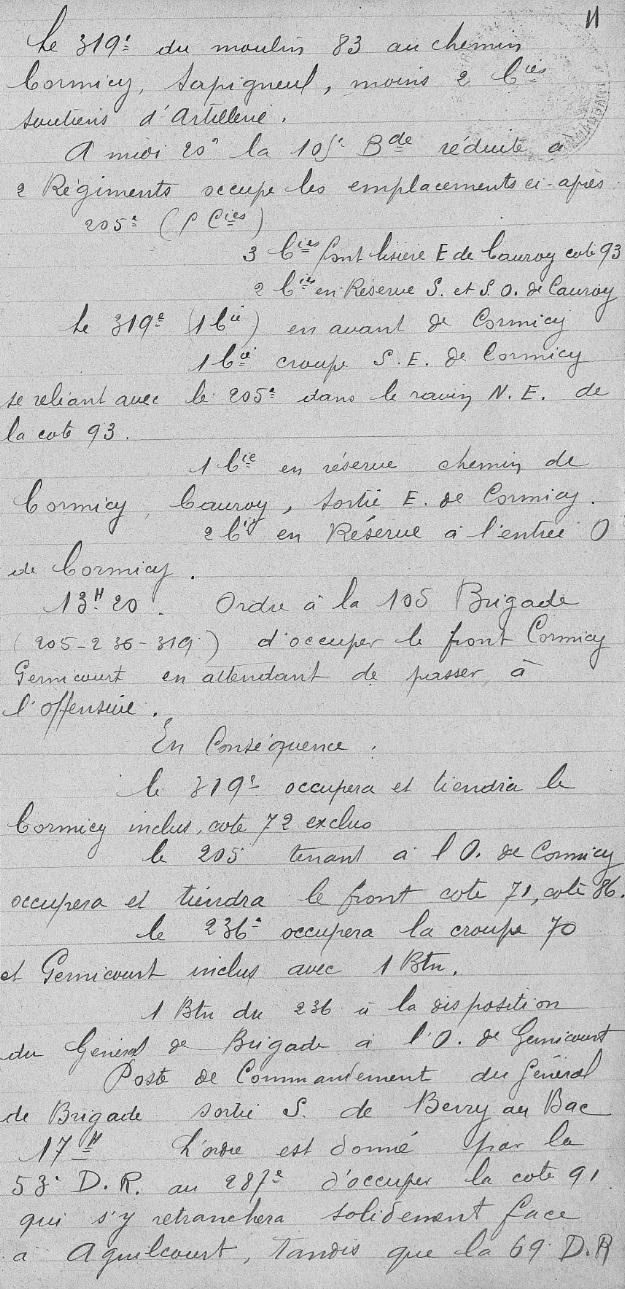 Lieutenant BILLOT Camille Félix Guillaume (+14/07/1914) 105eb_10