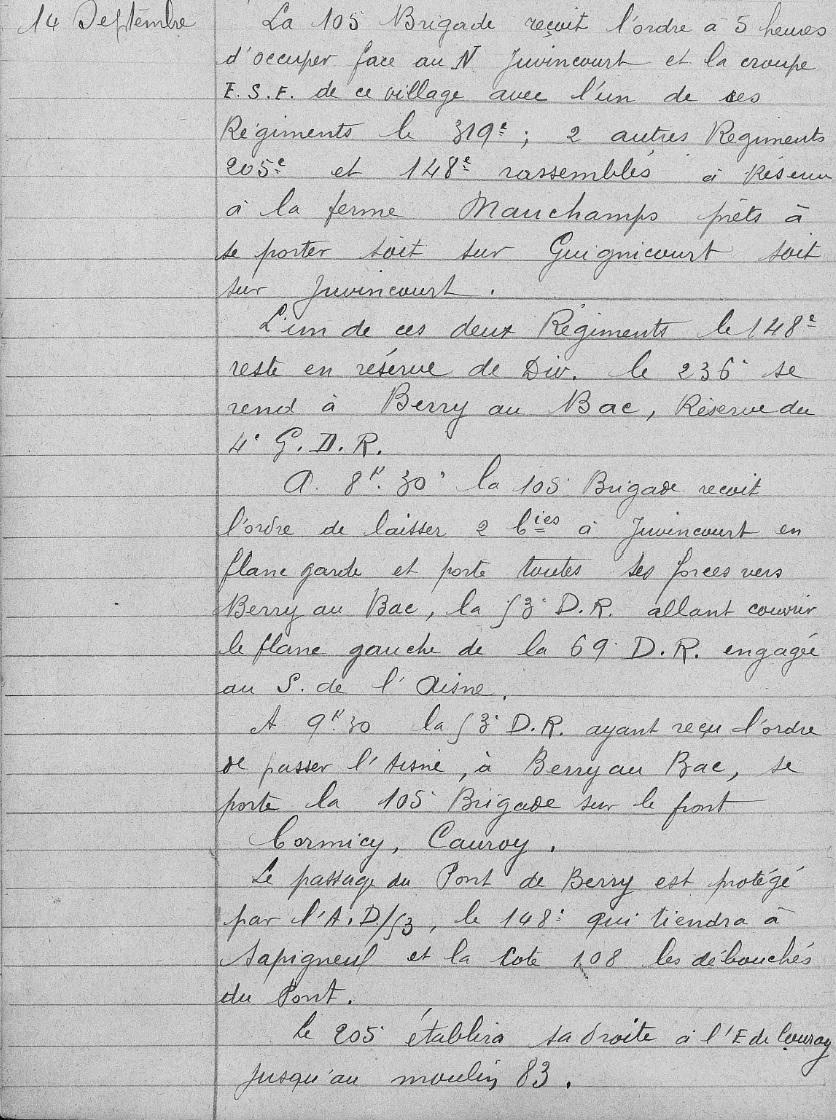 Lieutenant BILLOT Camille Félix Guillaume (+14/07/1914) 105eb_12