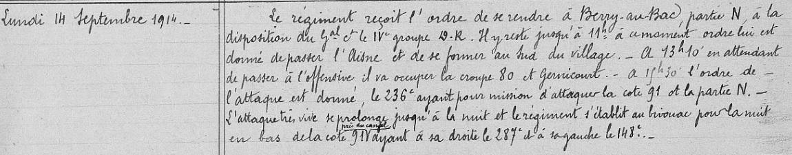 Lieutenant BILLOT Camille Félix Guillaume (+14/07/1914) 236eri10