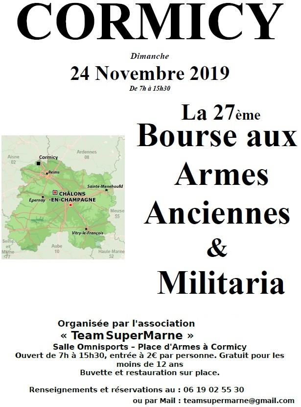 27e Bourse aux armes de Cormicy (51) 24 Novembre 2019 27ebou11