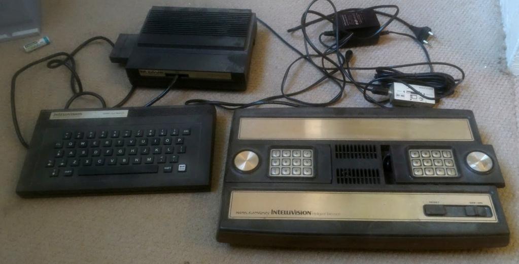 [EST] console Mattel Intellevision + computer adapter Sans-t10