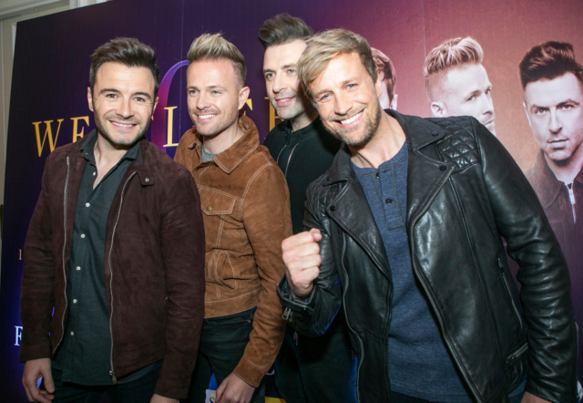 Westlife Press Conference InterContinental - 23.10.18 0119310